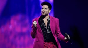 On Holiday From Queen Adam Lambert
