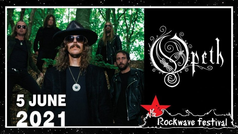 Rockwave Festival 2021 Opeth Fuzzy Hound