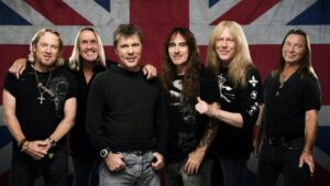 Iron Maiden THe Fuzzy Hound Music Blog