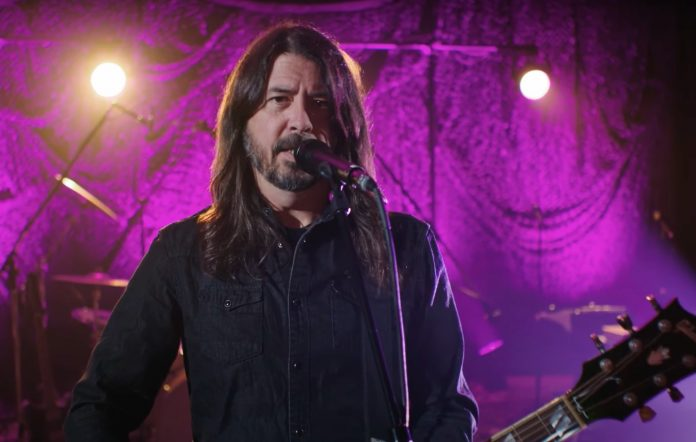 Dave Grohl Everlong Fuzzy Hound The Music Blog