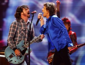 Eazy Sleazy Dave Grohl Mick Jagger The Fuzzy Hound Music Blog